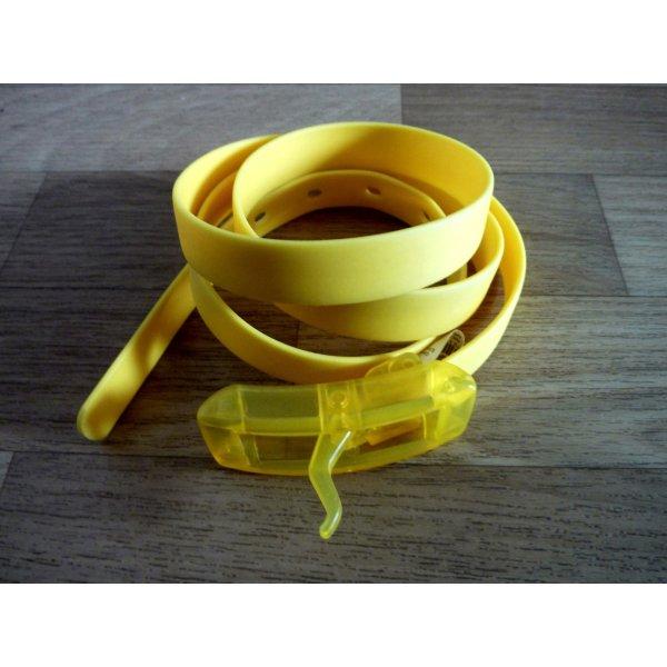 Gürtel gelb modisches Accessoire TRENDALARM hello yellow