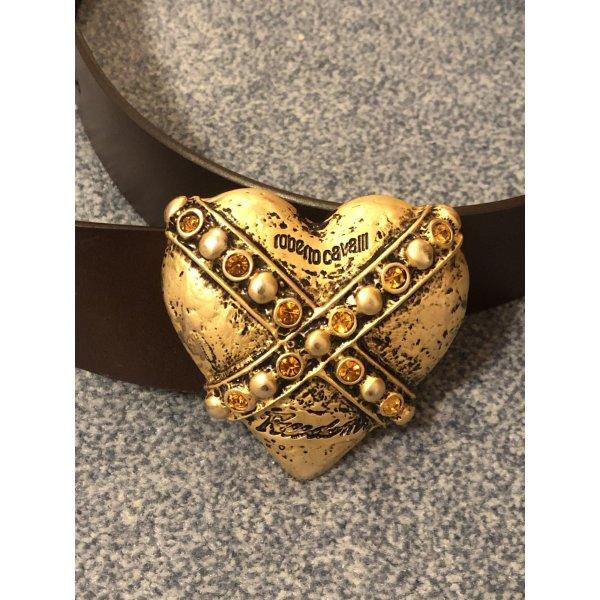 Roberto Cavalli Leather Belt brown leather