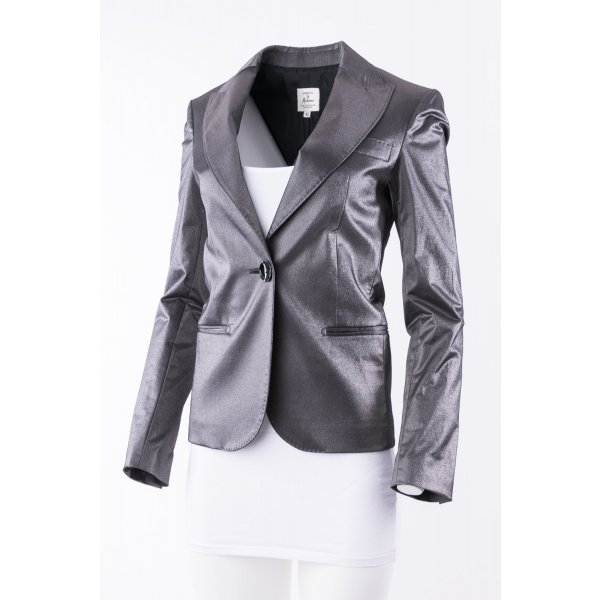 Guess by Marciano Blazer silver-colored-dark grey