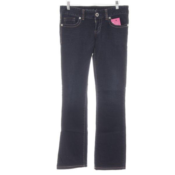 Guess Jeans Jeans bootcut bleu foncé style décontracté