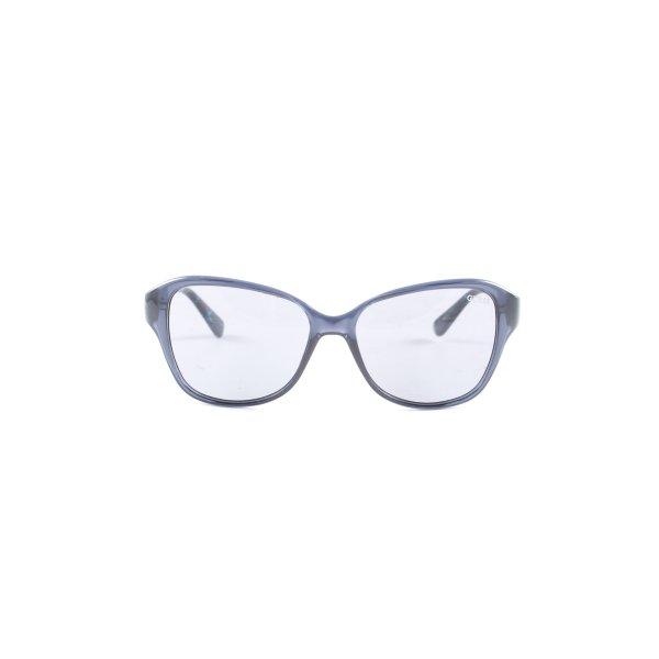 Guess Karée Brille blau-türkis Casual-Look