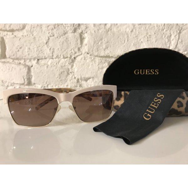 GUESS Sonnenbrille Nude / Leoprint