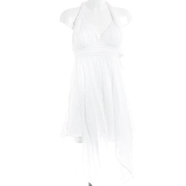 Guess Vestido playero blanco look casual