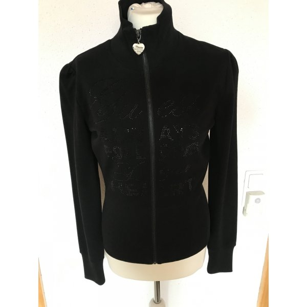Guess Luxe Shirt Jacket black cotton
