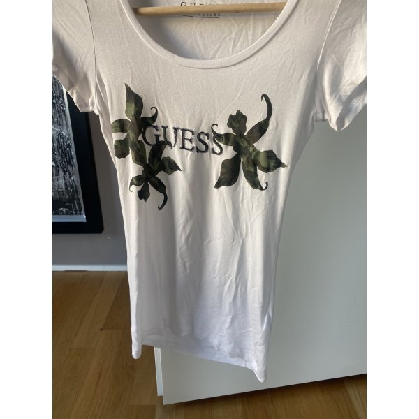 Guess T-shirt Shirt S 36 Army Camouflage