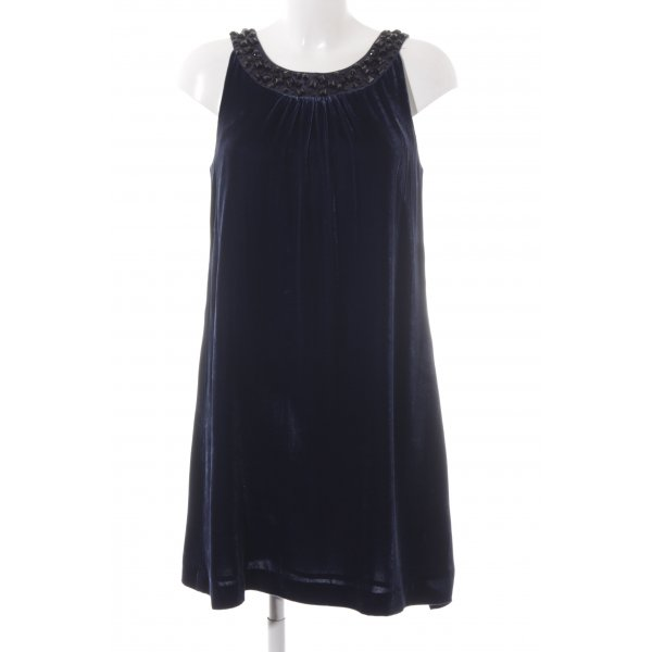 H&M A-Linien Kleid dunkelblau Elegant