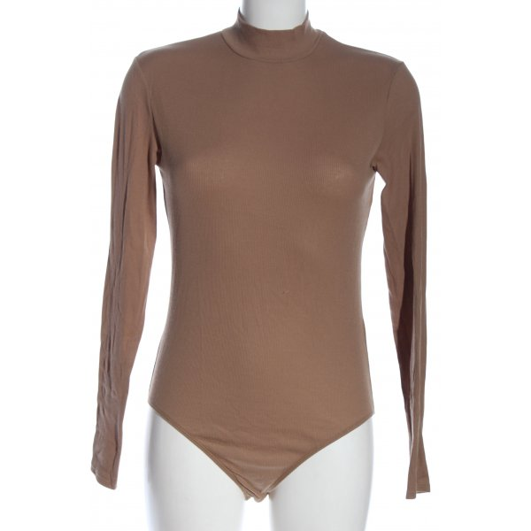 H&M Basic-Body braun Casual-Look