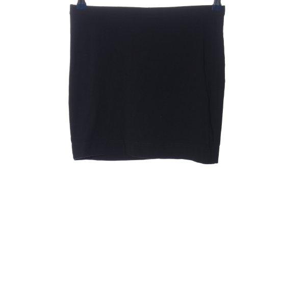 H&M Basic Minirock blau Casual-Look
