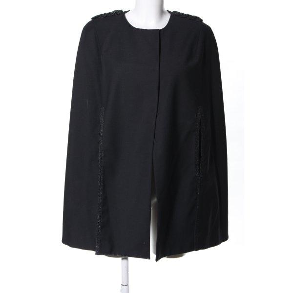 H&M Cape schwarz Casual-Look