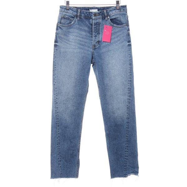 H&M Conscious Collection High Waist Jeans blau Casual-Look