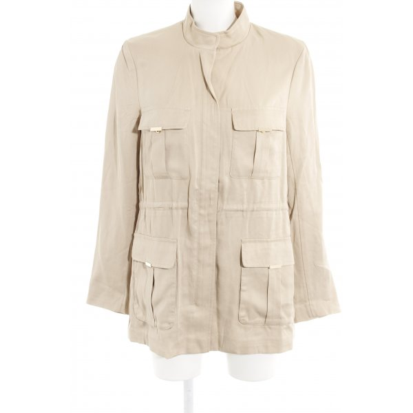 H&M Conscious Collection Übergangsjacke beige Casual-Look