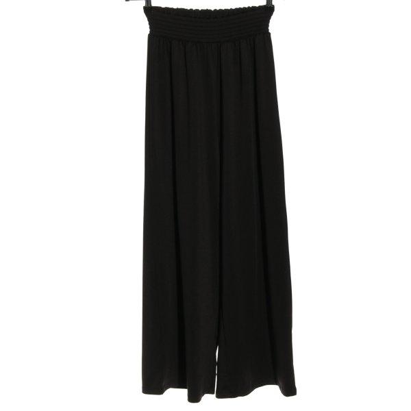 H&M Culottes schwarz Casual-Look
