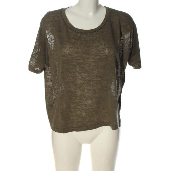 H&M Divided Basic-Shirt khaki Casual-Look