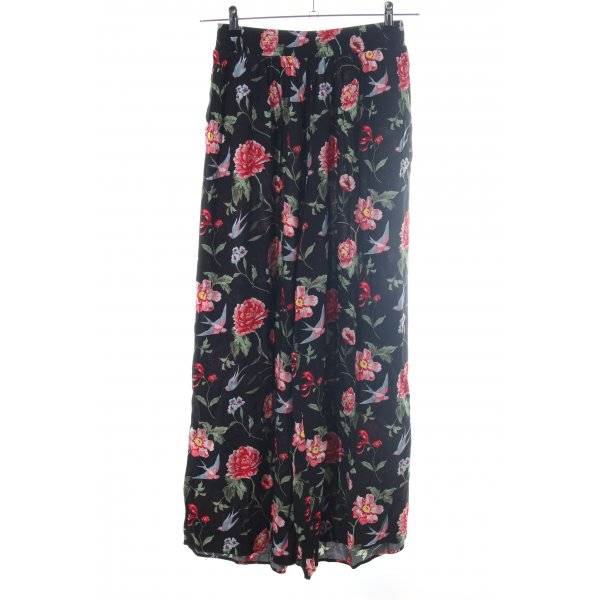 H&M Divided Culottes Blumenmuster Casual-Look