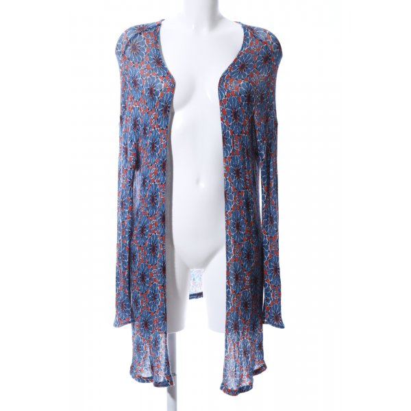 H&M Divided Strick Cardigan Allover-Druck Casual-Look