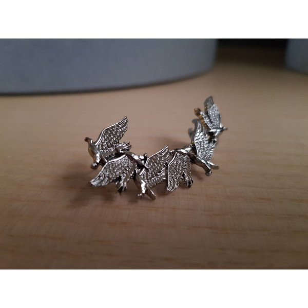 h&m Earcuff Kranich/Vögel Silber Ohrstecker &other strories COS zara