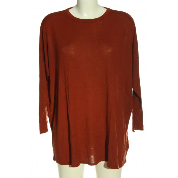 H&M Feinstrickpullover rot Casual-Look