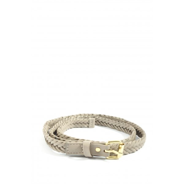 H&M Braided Belt brown cable stitch casual look