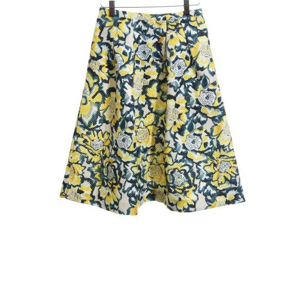 H&M Glockenrock florales Muster klassischer Stil