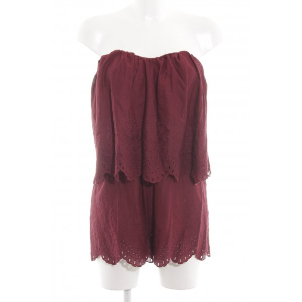 H&M Jumpsuit rot Casual-Look