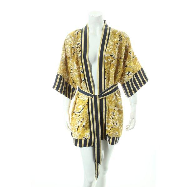 H&M Kimono-Bluse Allover-Druck extravaganter Stil