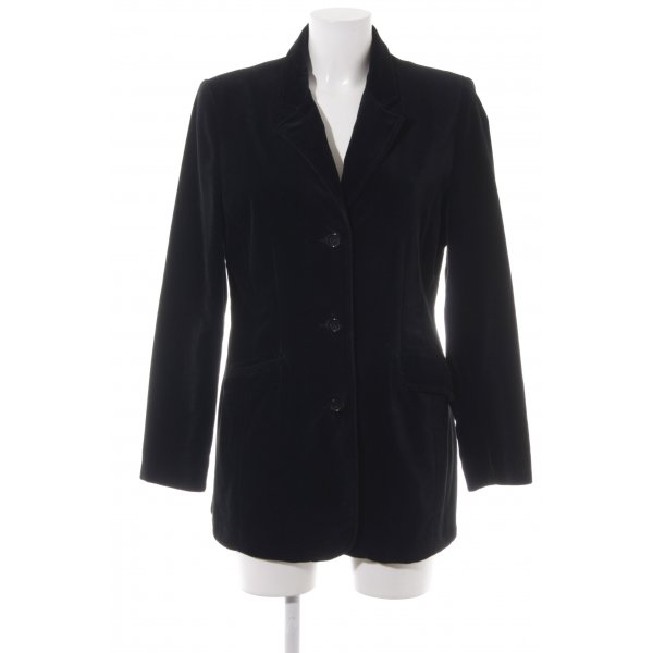 H&M L.O.G.G. Long-Blazer schwarz Business-Look