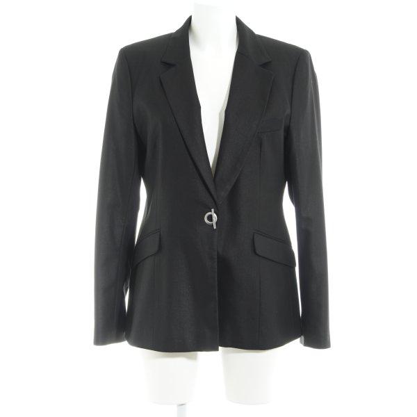 H&M L.O.G.G. Long Blazer black-silver-colored business style