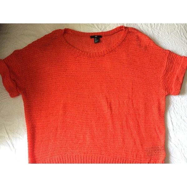 H&M leichter Sommer Pullover - Koralle - Größe S - wie NEU!!