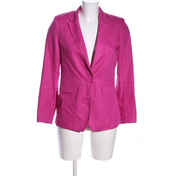 H&M Long-Blazer pink Casual-Look