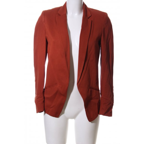 H&M Long-Blazer rot Casual-Look