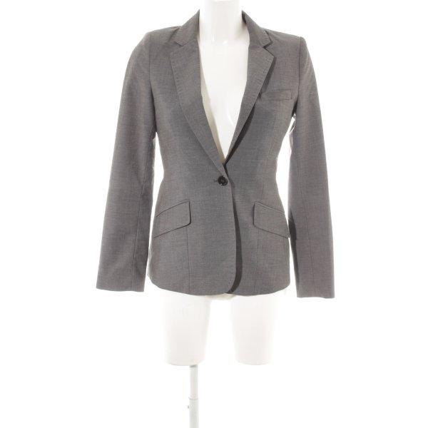 H&M Long-Blazer dunkelgrau Business-Look