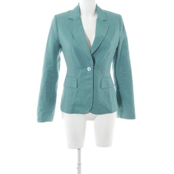 H&M Long-Blazer kadettblau Business-Look