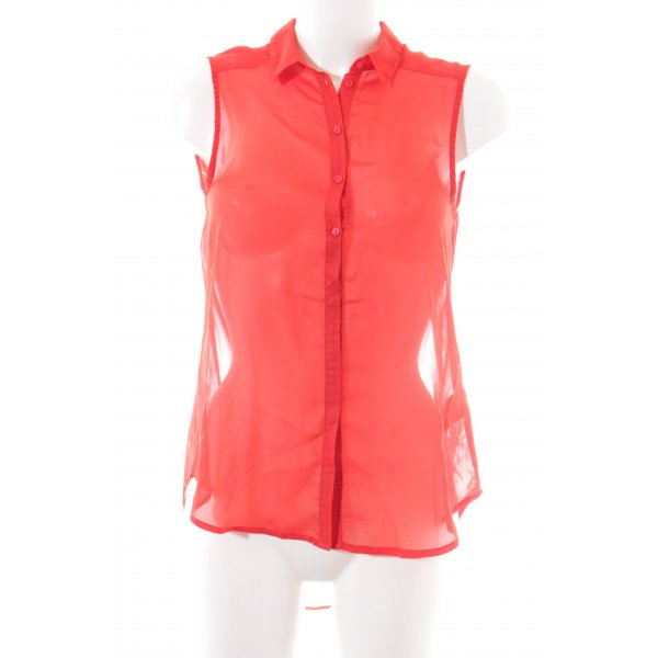 H&M Long-Bluse rot Business-Look