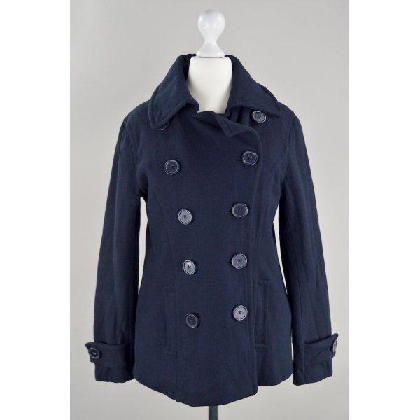 H&M Mantel mit Knöpfen blau Größe 36