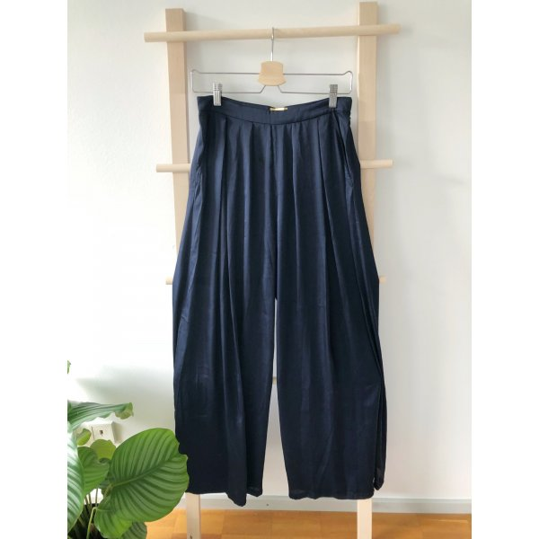 H&M Marlene Trousers dark blue