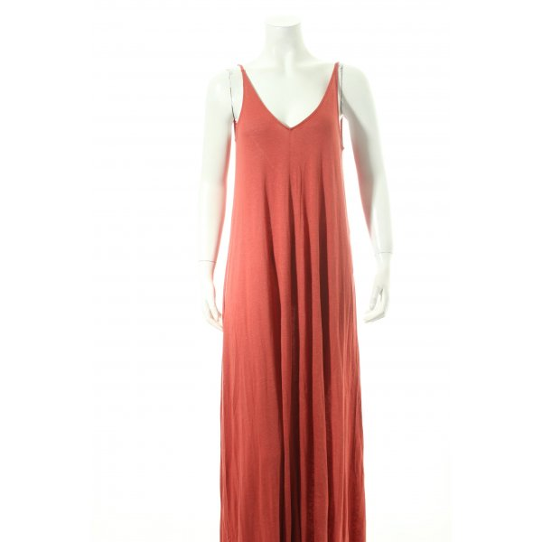 H&M Maxikleid rostrot Casual-Look