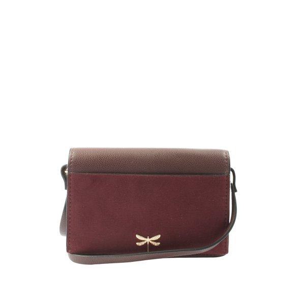 H&M Minitasche rot-braun Casual-Look