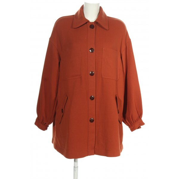 H&M Oversized Jacke rot Casual-Look