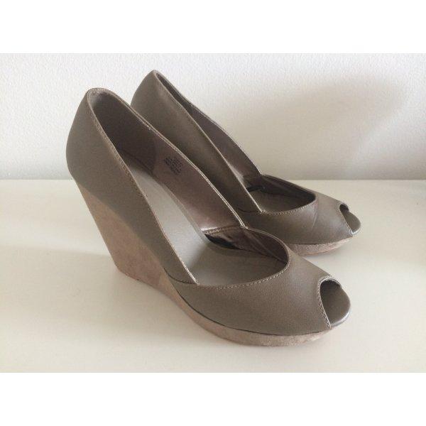 H&M Wedge Sandals mauve