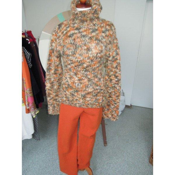 H&M Rollkragen Grobstrick Gr.40 bunt Wolle