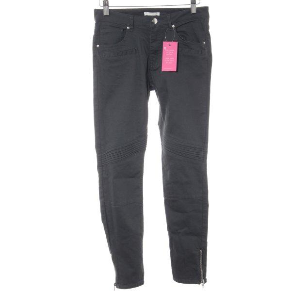 H&M Skinny Jeans dunkelgrau Casual-Look