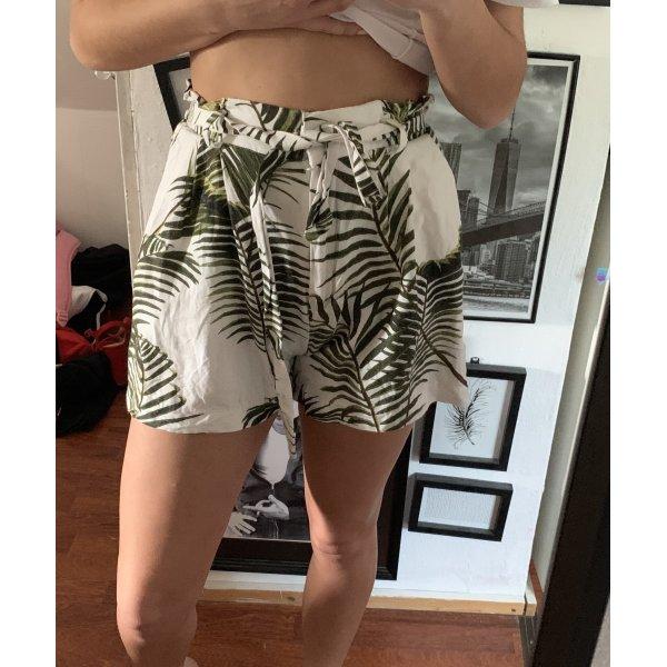 H&M Sommerhose hotpants Palmen