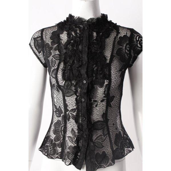 H&M Camicetta a maniche corte nero