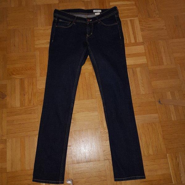 H&M Jeans skinny blu scuro Cotone