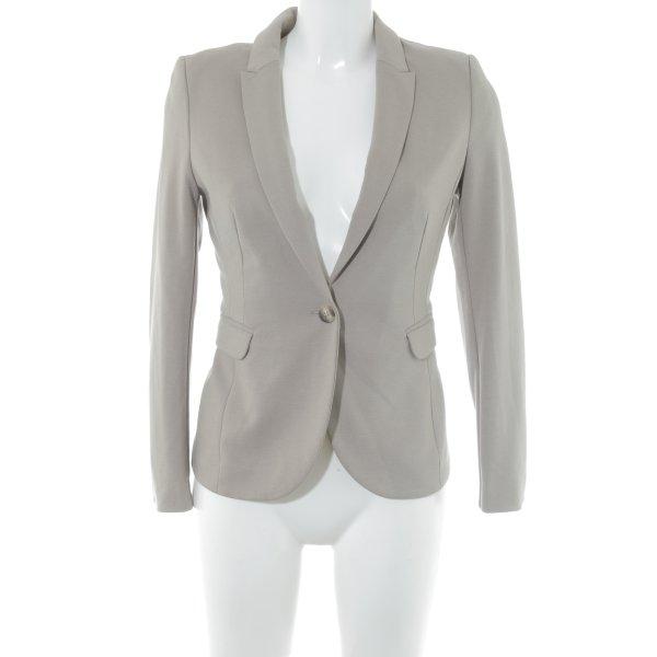 H&M Tweedblazer hellbraun Business-Look