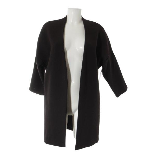 H&M Übergangsjacke schwarz Casual-Look