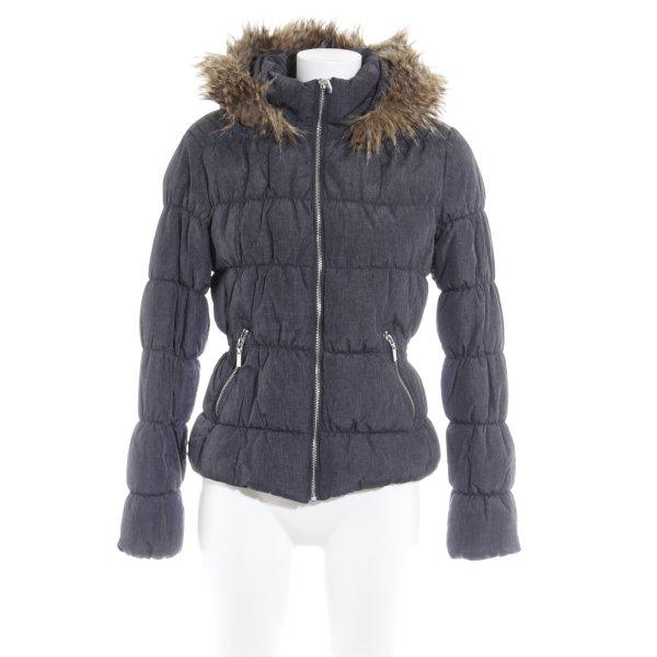 H&M Winterjacke dunkelgrau Casual-Look