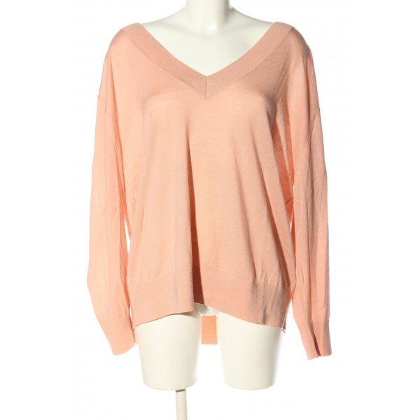 H&M Wollpullover nude Casual-Look