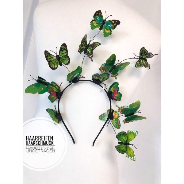 Haarreifen haarschmuck Accessoires blogger vintage Festival Karneval butterfly Schmetterlinge