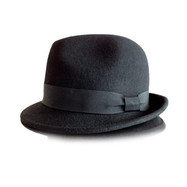 Hallhuber Cappello Trilby nero